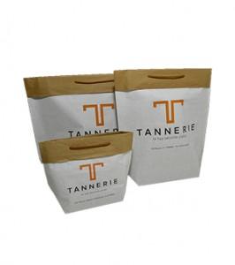 Sac r utilisable kraft personnalis galand packaging - Combien de sac de ciment pour 1m2 ...