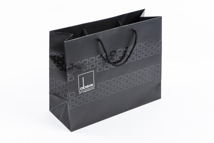 sac papier personnalise luxe sac papier publicitaire imprime papier kraft fsc galand packaging